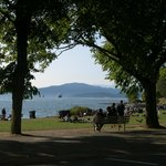 Park and beach on English Bay