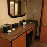 Convenience bar in room