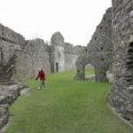 Another view inside the Kidwelly Castle