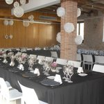 Sala polivalente donde celebramos la boda.