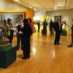 First Friday events invite the community to mingle in the galleries.