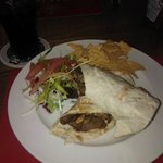 Steak and Onion Wraps. xx