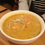 Laksa - very spicy soup but so delicious!