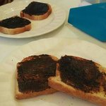 Custom thickness Vegemite on toast, deeeelish!