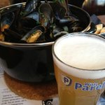 Witte Parel paired with Mussels