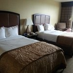 Room with Queen size beds.