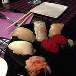 A combination of FRESH Fish Sushi - to die for!