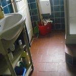 bathroom in Josephine Baker suite