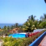 Excelente vista sobre Playa Guacuco