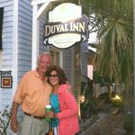 Having fun in Key West at the Duvall Inn