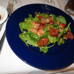 candied salmon salad