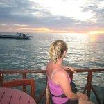Sunset at Mabul Homestay