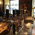 Bar with draft equipment from Antoine Belgium and Franke