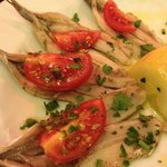 Fresh Anchovy Appetizer