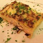 White fish & leek Lasagne