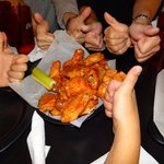 Fat chicken wings