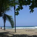Zona de playa del Hotel