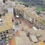 Vista dalla Torre del palazzo del Podestà