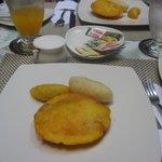 Tyoical Colombian breakfast on Sundays