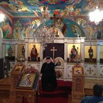 Interior of Serbian Chirch