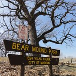Learned about the effigy mounds that still remain around the lake on our walking food tour