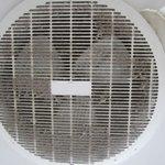 Bathroom ceiling fan