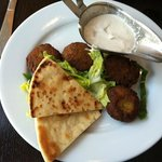 Falafel at It's Greek to Me