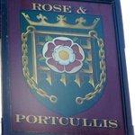 The Rose & Portcullis Pub Sign