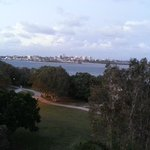 Caloundra city from the balcony