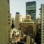View from 36th floor room facing Central Park area