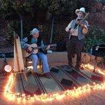 cowboy songs at sunset