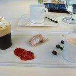 Frozen Cappuccino Souffle
