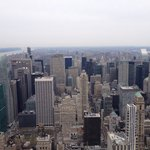 View from 86th floor of the Empire State Building