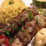 Lamb shish kabob