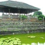 The Kertha Gosa seems like floating on a lotus pond