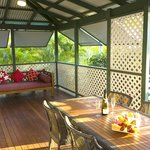 Bungalow veranda