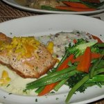the salmon entree