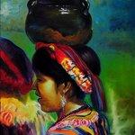 PUAC, Maria, oil on canvas