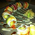 Rainbow Roll at Yuzu - awesome.