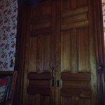 Huge pocket door!