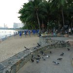 pattaya beach 1 minute from baron hotel