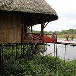 Cabana on the lake