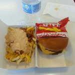 double double and fries animal style