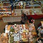Inside of the Farmers Market