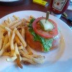 burger wrapped in pazoratti