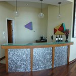 Bar in the panorama suite