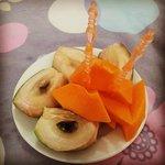 free fruits!!