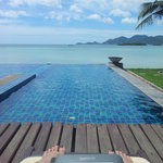 Pool, Sea and book ;-)