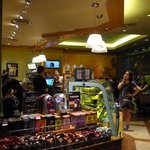 Place your order at The Coffee Bean & Tea Leaf
