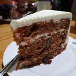 Carrot cake at The Coffee Bean & Tea Leaf